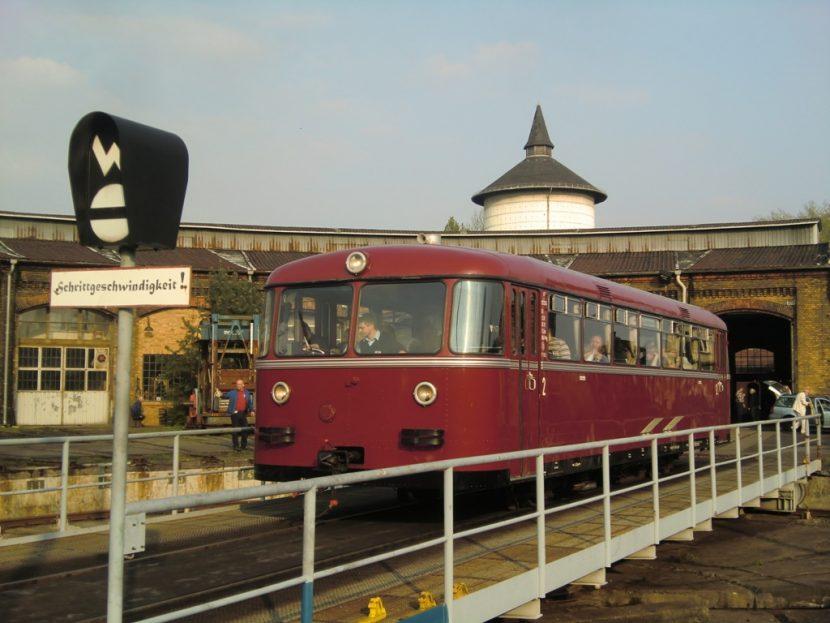 Historischer Schienenbus VT96
