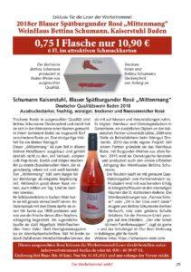Weinhaus Bettina Schumann: 218er Blauer Spätburgunder